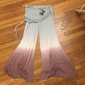 NWT Young Fabulous Broke YFB Gypsy BOHEMIAN Pants
